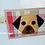 Thumbnail: Pug Greeting Card