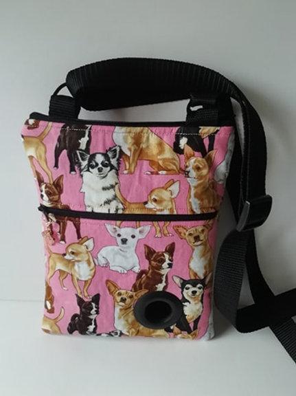 Chihuahua Dog Walking Bag