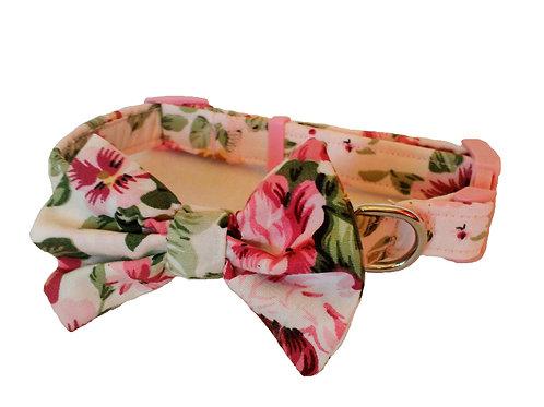 Peony Ivory Bow Collar