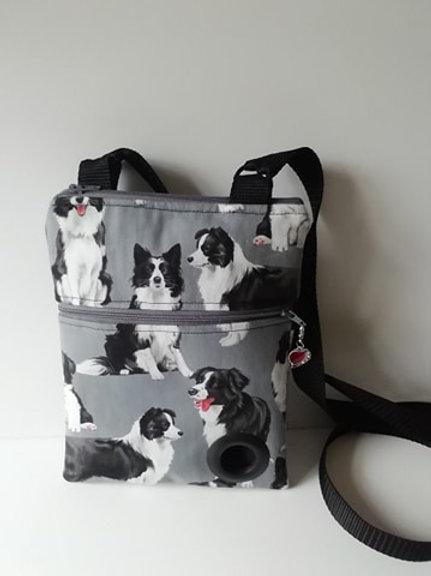 Collie Dog Walking Bag
