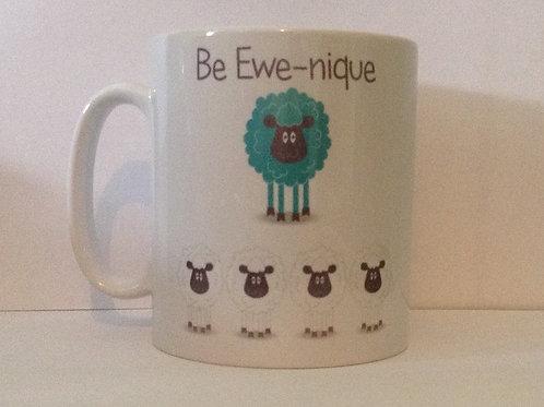Be Ewe-nique Mug