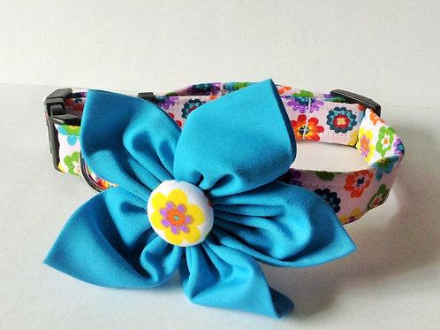 Bright Flowers Collar