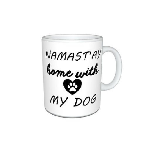 Namast'ay Dog Mug