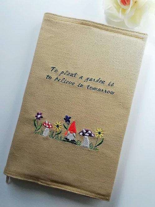 Fabric Covered Garden Journal