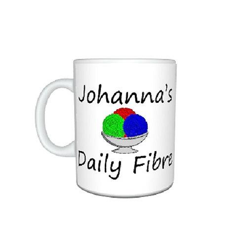 Personalised Knitters Mug