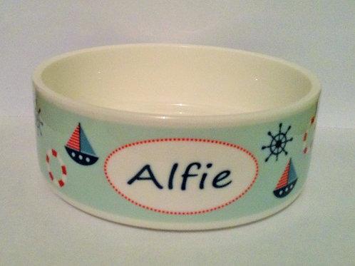 Seaside Dog Bowl