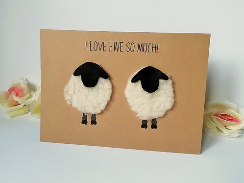 Love Ewe So Much Card