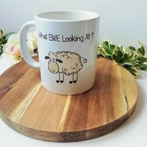 What Ewe Looking At? Mug
