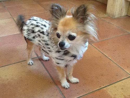 Snow Cheetah Fur Coat