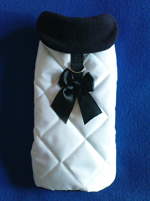 White Waterproof with Bow