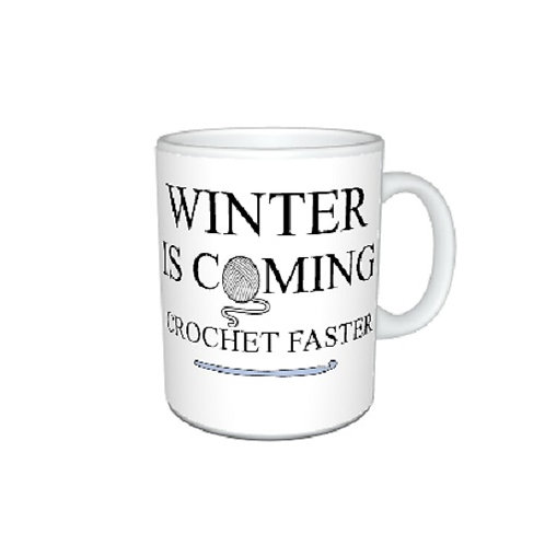 Winter Is Coming Knit / Crochet Faster Mug