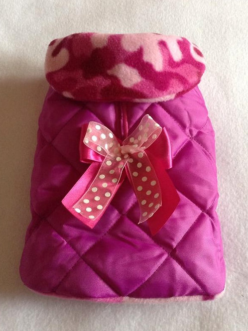 Cerise Waterproof with Bow