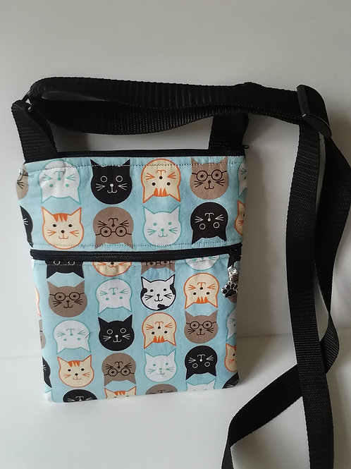 Cross Body Bag - Cats!