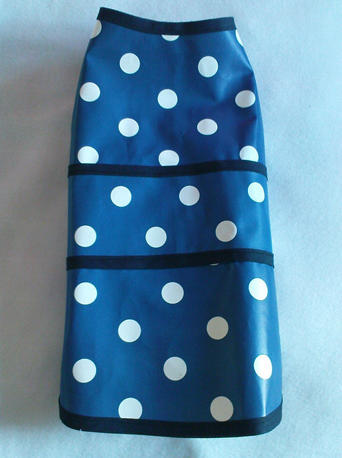 Blue Polka Dot Rain Coat