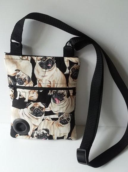 Pug Dog Walking Bag