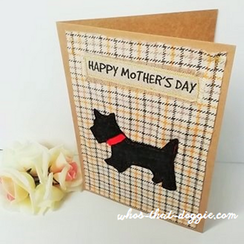 Scottie Dog Greeting Card