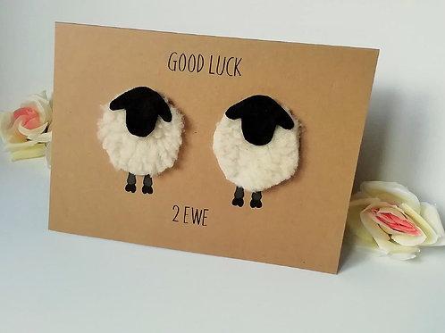Good Luck 2 Ewe Card