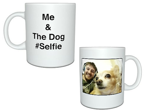 Personalised Pet Selfie Mug