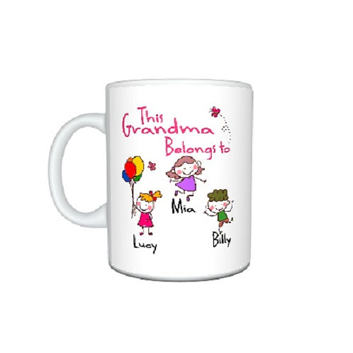 Personalised This Grandma belongs to..