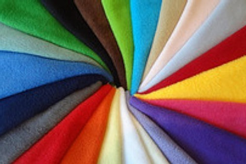 Choose your colours! Braided Fleece Lead