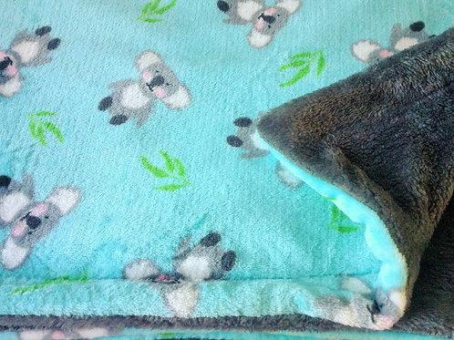 Koalas on Turquoise