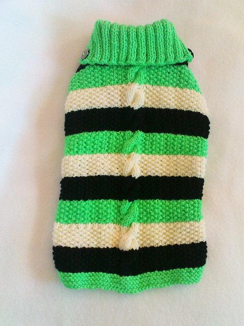 Stripey Hand Knitted Jumper