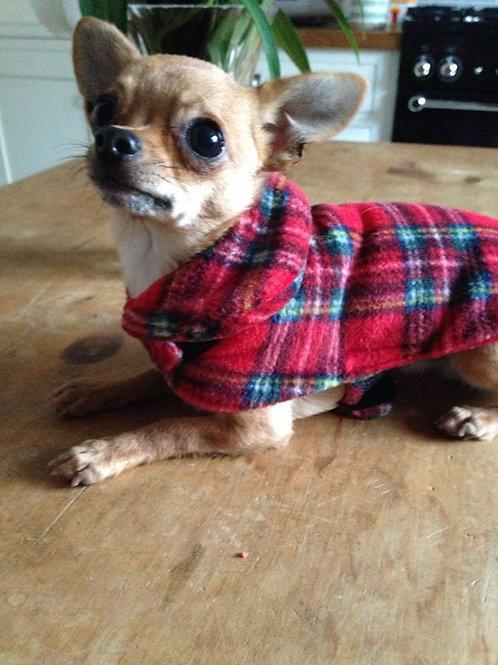 Tartan Fleece Coat
