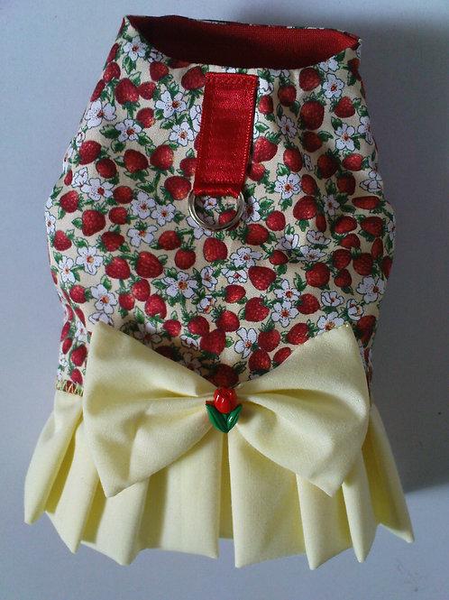 Strawberry Harness Dress