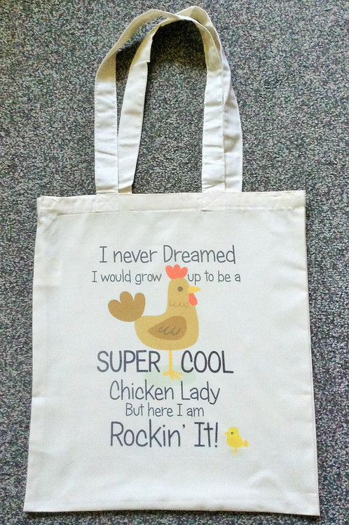 Chicken Lady Tote Bag