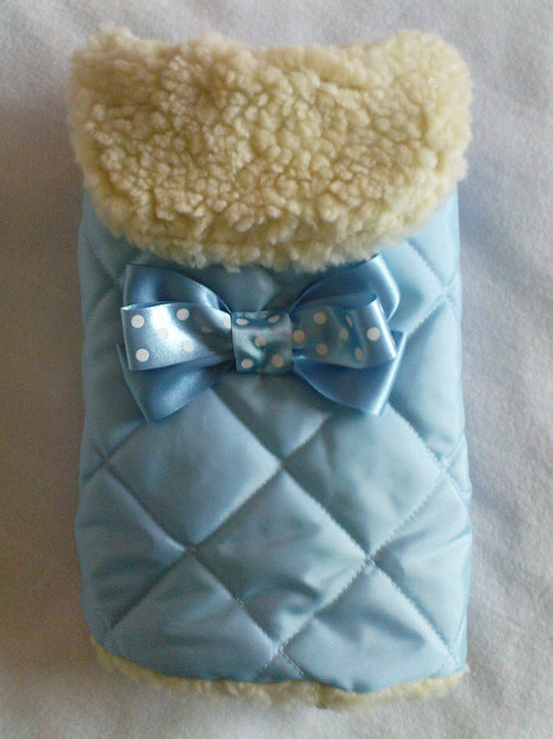 Blue Waterproof with Bow