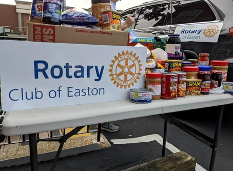 Food Drive for ProJeCT of Easton