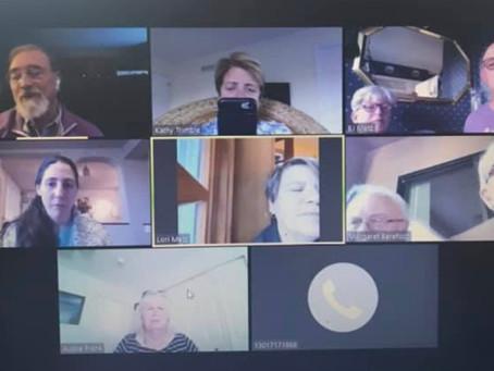Happy Hour Meeting via Zoom