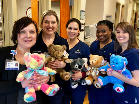 Valentine's Day Teddy Bears for Cancer Patients
