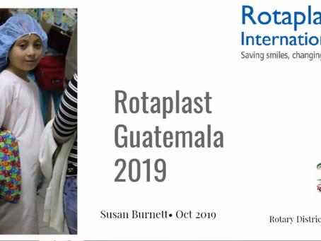 Sue Burnett - Rotaplast Mission to Guatemala