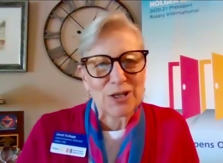 Janet Kolepp - District 7430 Governor