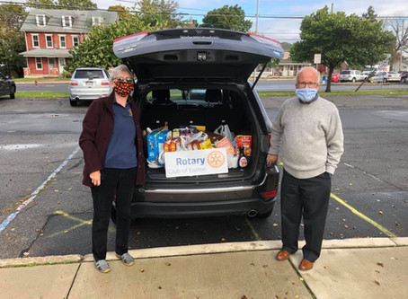 Easton Rotary Responds to Hunger Needs