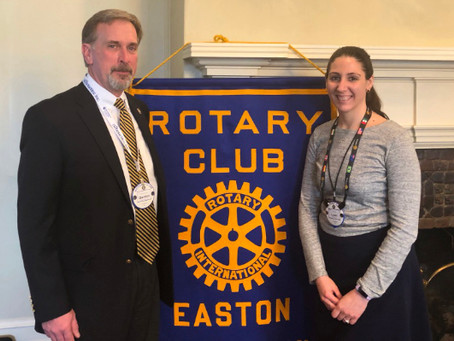 Newest Members of Easton Rotary