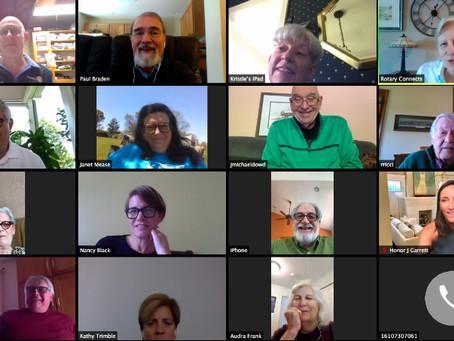 Zoom Meeting at Noon
