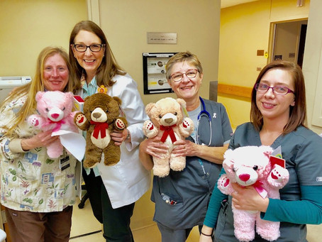 Teddy Bears for Cancer Patients