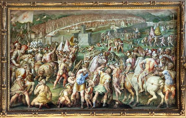 קרב קאשינה מול צבא פיזה שניטש בשנת 1364
