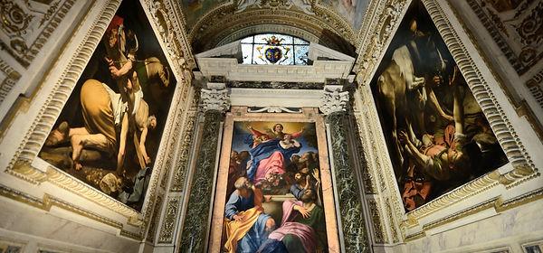 כנסיית סנטה מריה דל פופולו רומא