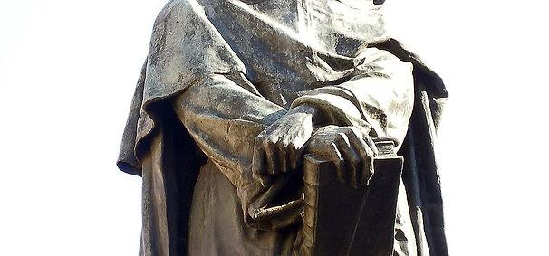 פסלו של ג'יורדנו ברונו רומא