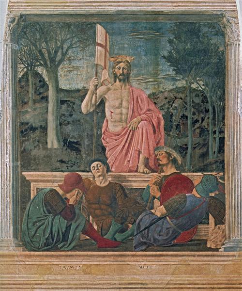 פיירו דלה פרנצ'סקה תחייתו של ישו