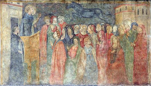 Loggia Bigallo - St. Peter Martyr in Flo