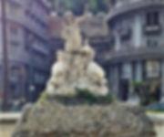מזרקת נימפת-הים (Fontana della Sirena) נאפולי