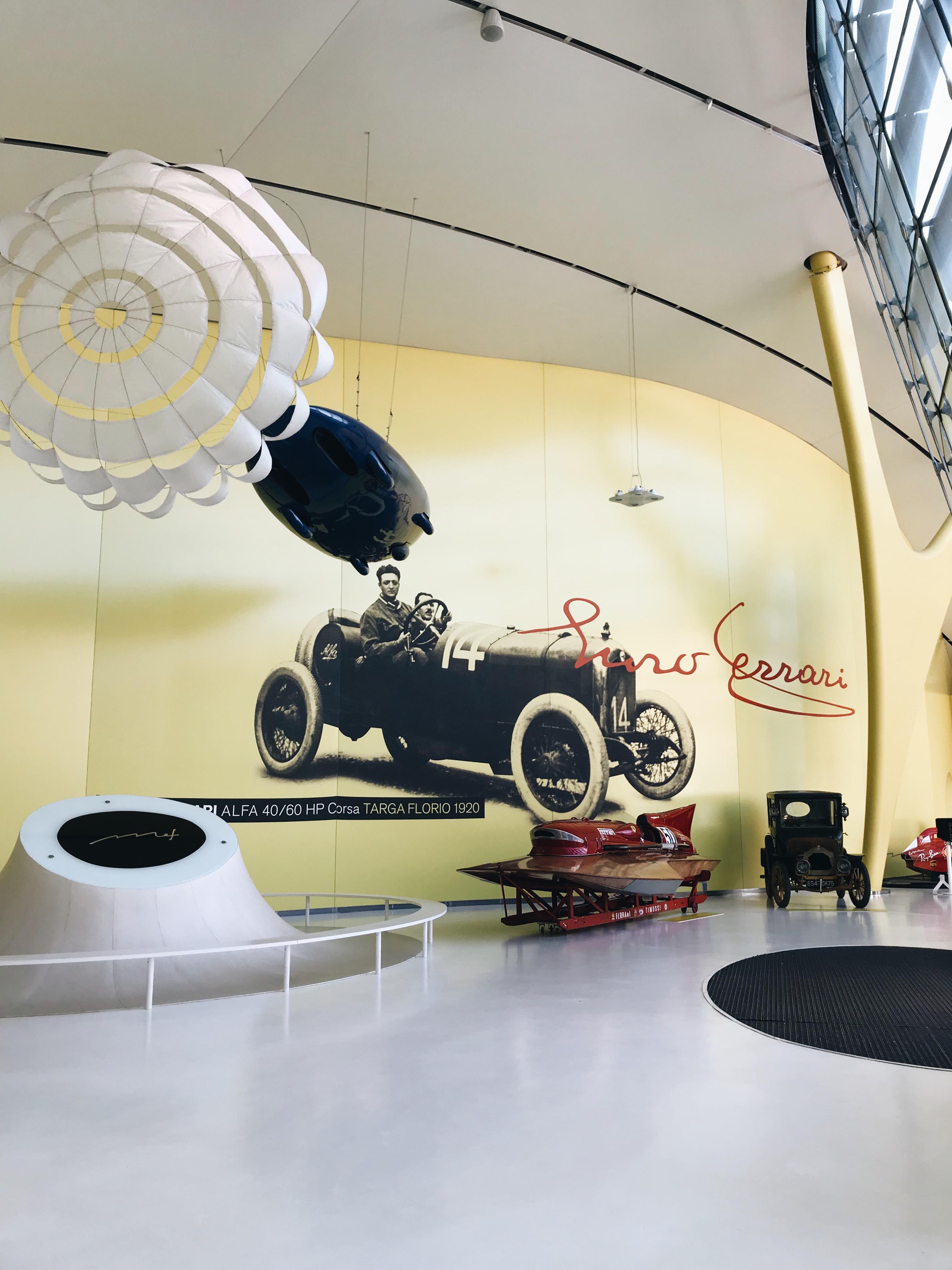 מוזאון פרארי מודנה איטליה
