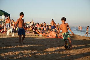 סיציליה כדורגל בחוף