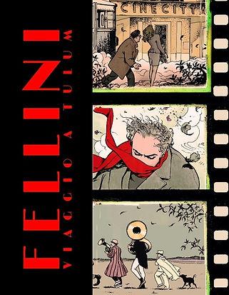 """""""מסע לטולום"""" קומיקס של פליני"""