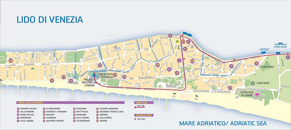 מפת הלידו של ונציה