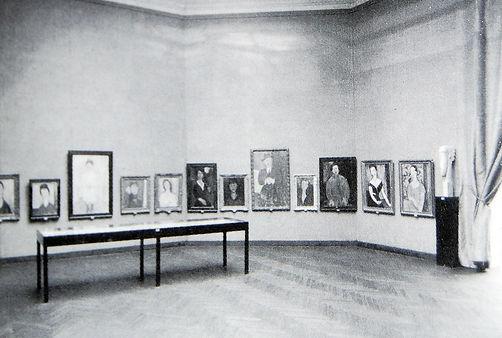 תערוכה של אמדאו מודיליאני בביאנלה בונציה